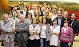 Foto grupal del Colegio de Periodistas de Castilla y León 2