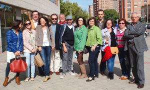 Foto grupal del Colegio de Periodistas de Castilla y León 1